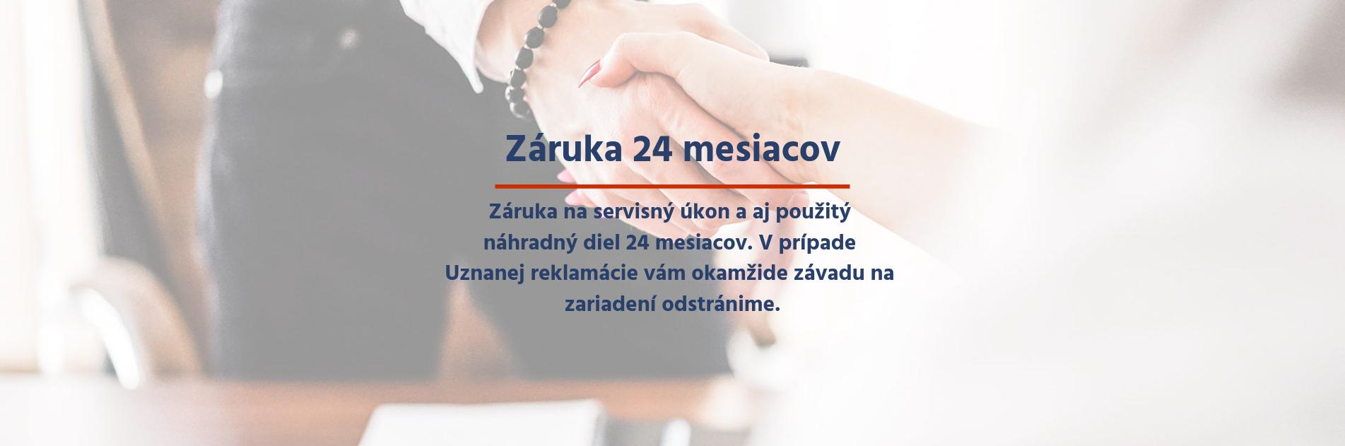 iDoctor | Záruka 24 mesiacov na diel aj opravu